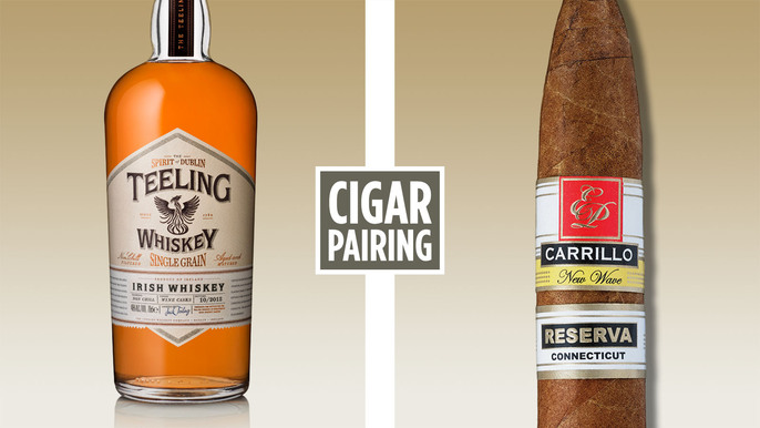 Cigar Pairing: Teeling Whiskey & New Wave Reserva